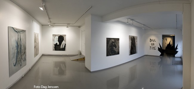 Soul On Fire - exhibition view