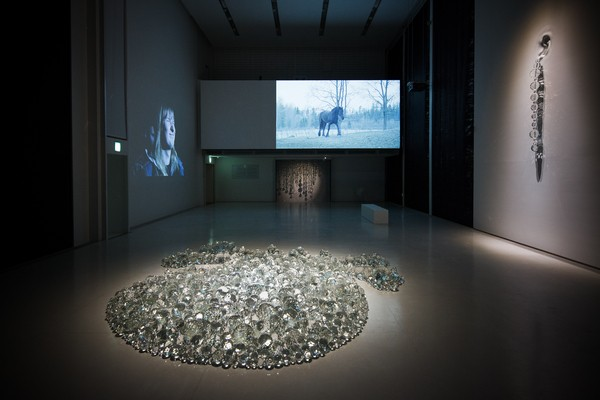 Installation view from The  Espace Louis Vuitton, Tokyo